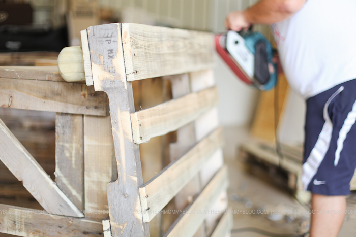 Pallet Bed #PROJECTdecor blog-6