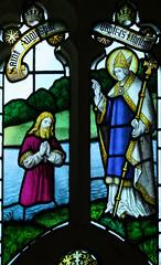 St Augustine baptises Ethelbert
