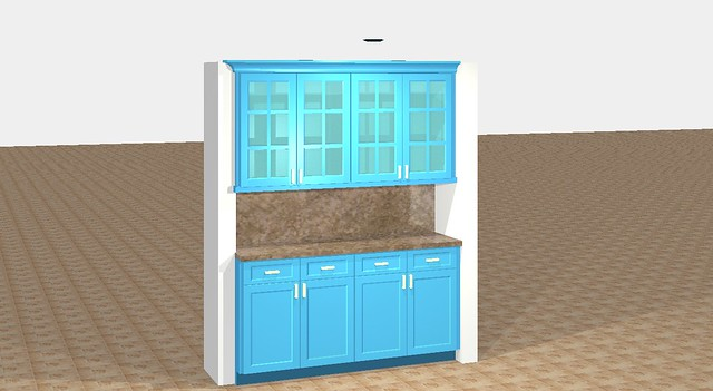 My Pantry Design in KCD software