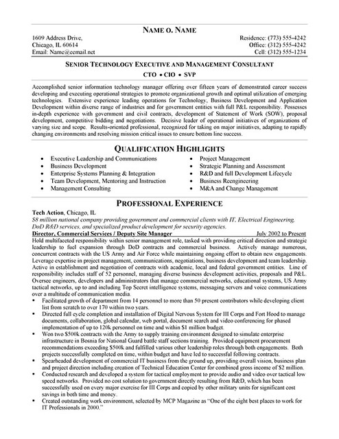 example resume the perfect resume example