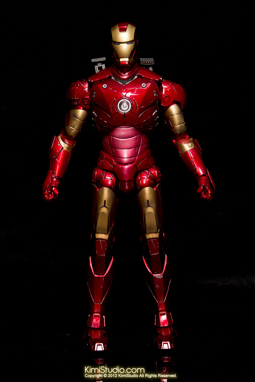 2012.09.13 MMS110 Hot Toys Iron Man Mark III 戰損-005