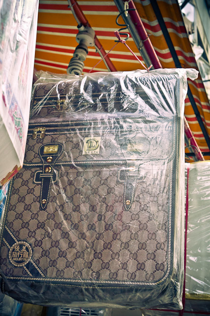 Things You Can Burn For The Dead - Louis Vuitton Luggage