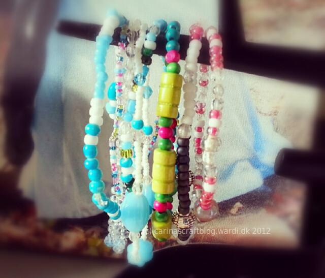Bracelets I made...
