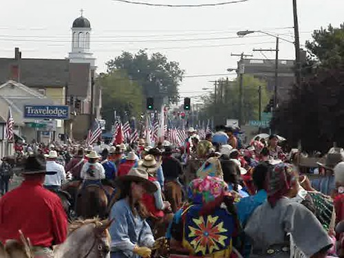 (video) 9/14/12 10:00am Westward Ho Parade Begins