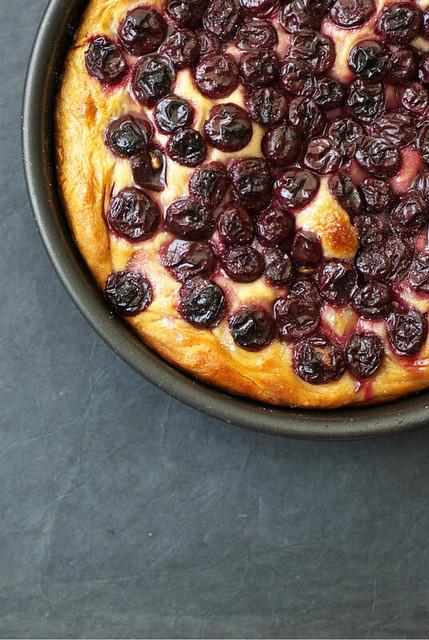 Focaccia aux raisins