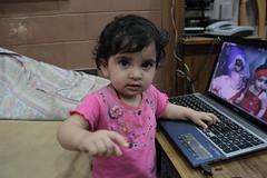 The Laptop Girl From Bandra .. Nerjis Asif Shakir .. by firoze shakir photographerno1