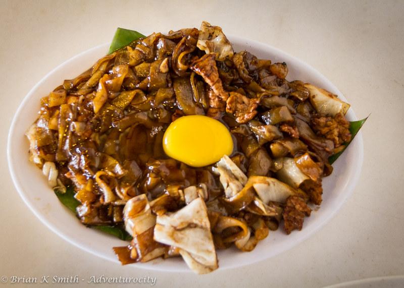 Dish of Moonlight Kuay Teow at Kim Lian Kee, Kuala Lumpur.