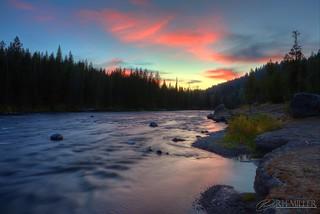 Fall River Sunset