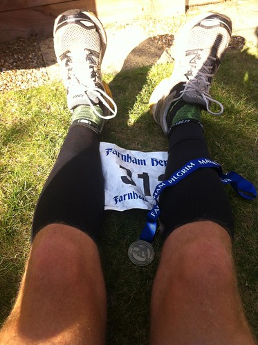 Farnham Pilgrim Marathon. 30th Marathon by ultraBobban