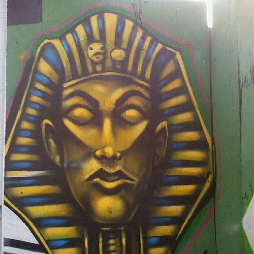 Pharaoh Street Art on Atlantic