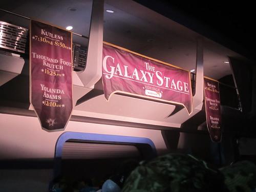 Galaxy Stage Entrance