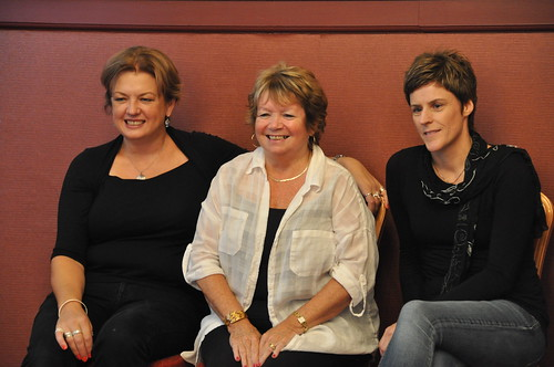 Gillian Philip, Cathy MacPhail and Helen FitzGerald