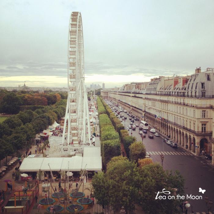 París instragram Rue Rivoli Tulleries