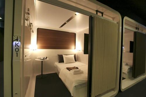 hotel cabina japon