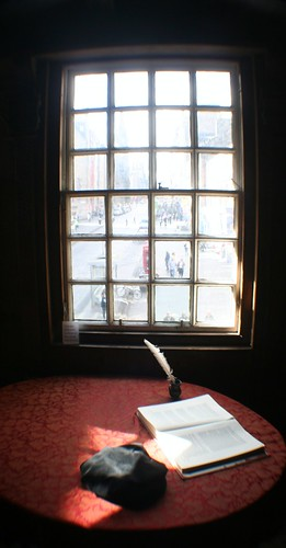 View of Royal Mile from John Knox House