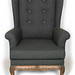 Wingback Chair - Front View