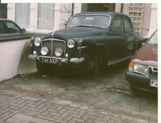 1960 ROVER 100 P4.north london 1998