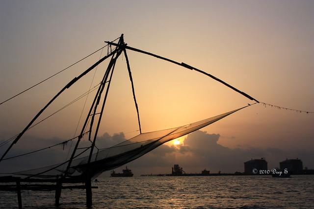 Sunset @ Kochi