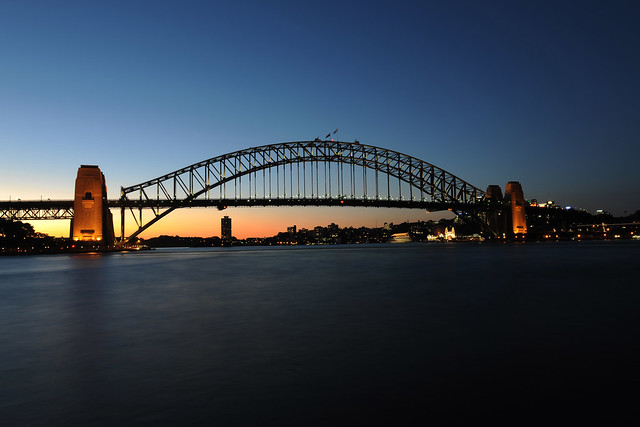 Sydney Harbour Bridge Dusk