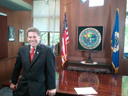 9/11/12 Video Shoot with Secretary of State Mark Ritchie