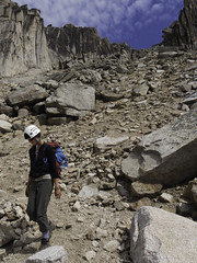 The Bugaboos - Alana Descending Crescent-Eastpost col
