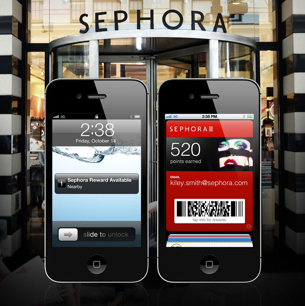 Passbook arranca con buen ritmo. Sephora to Go en Passbook