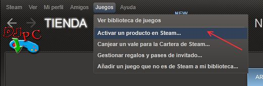 Canjear codigos Steam 1
