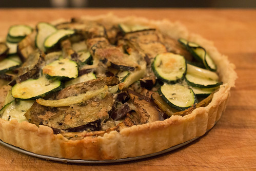 Provencal Vegetable Tart