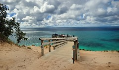 (Overlook #9) Pierce Stocking Scenic Drive, Sleeping Bear Dunes National Lakeshore. by Michigan Nut