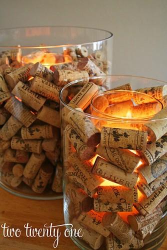 Corchos for Decoracion con corchos