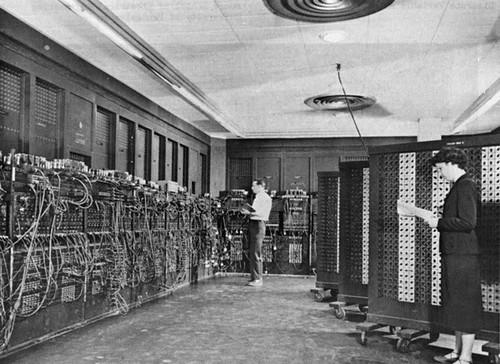 First computer.
