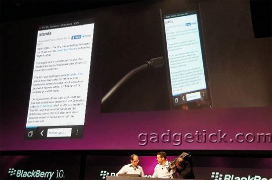 HTML5-браузер BlackBerry 10