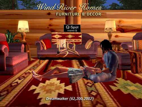 Wind River Furniture & Q-Spot by Teal Freenote