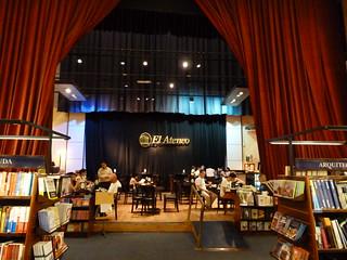Imagen de la librería El Ateneo Grand Splendid (Buenos Aires)