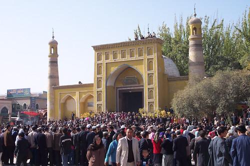 Mesquita Id Kah a Kashgar