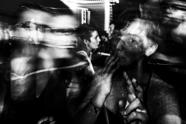Roma, ippodromo Capannelle. Radiohead's fan.