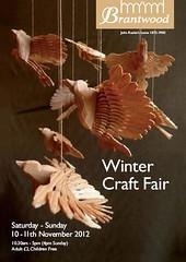 Brantwood Winter Craft Fair - fan birds