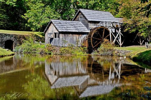 reflection mill water blueridgeparkway mabrymill