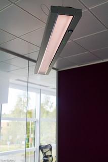 Low energy lighting in Autodesk UK office