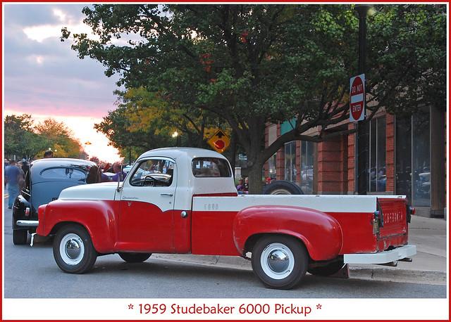 1959 Studebaker 6000 Pickup | Flickr - Photo Sharing!  1959 Studebaker...