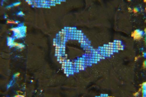 Japanese 10000YEN Hologram foil