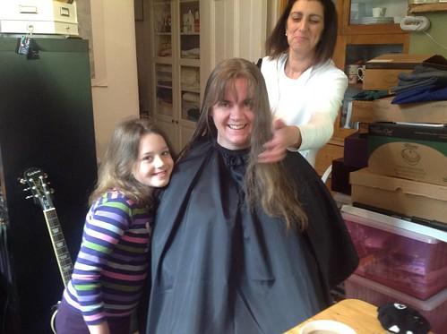 Haircut with Rochina