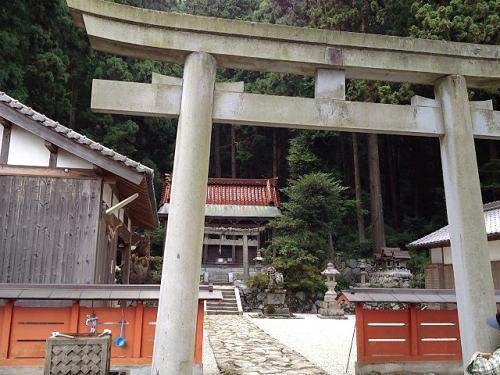 金剛山登山(高天彦神社から)-01