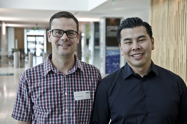 2012/09 - Jef Wong and Hudson Smales (Air NZ)