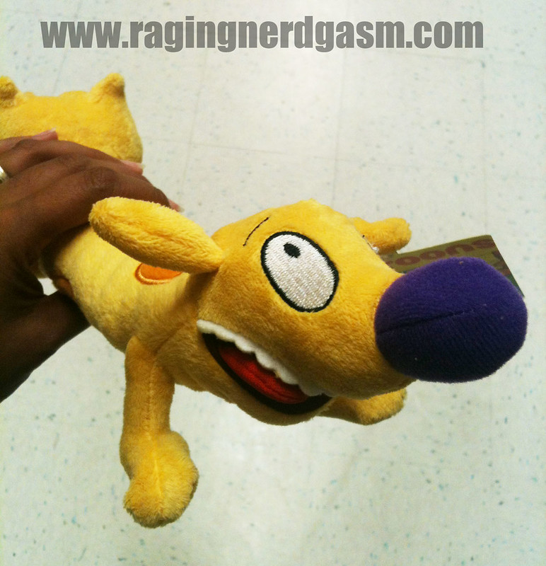 NickToons Plush by Jazwares Cat Dog008