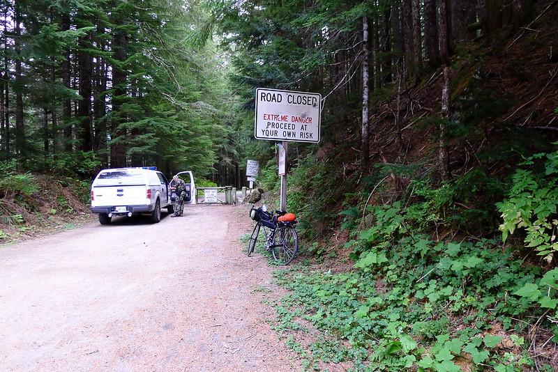 Sheriff at Barlow Pass