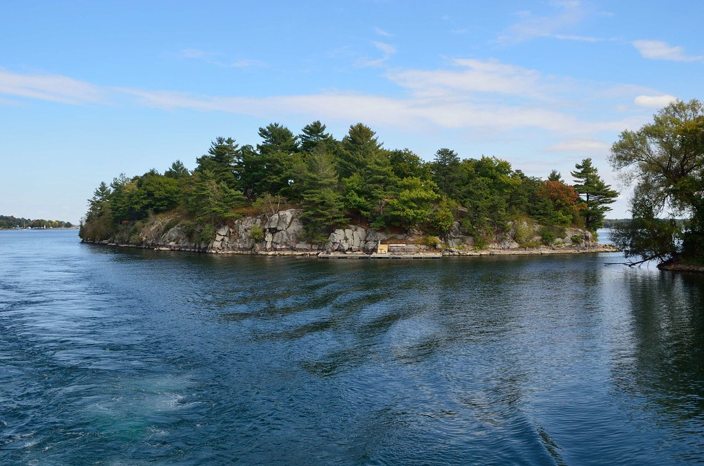 One (#2) of the 1000 Islands. Canada.
