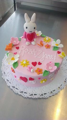 Nijntje Miffy Cake by CAKE Amsterdam - Cakes by ZOBOT