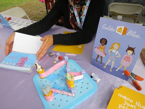 Goldieblox, an interactive book trying to attract girls into engineering