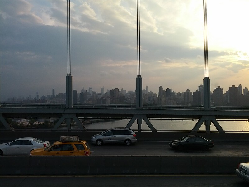 Manhattan from RFK Bridge to Queens